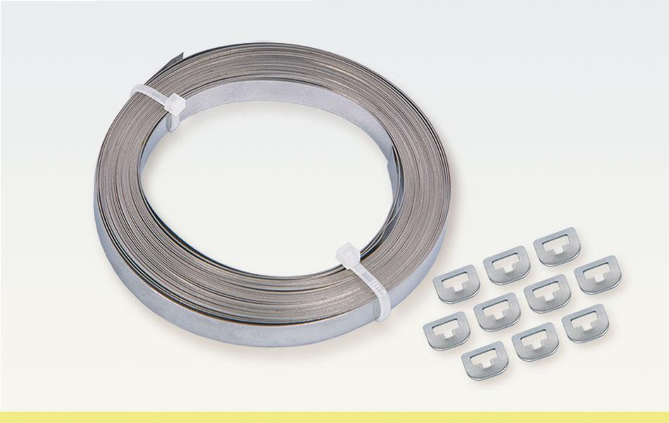 Metallspannbänder