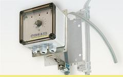 Montagekonsolen / Mounting brackets