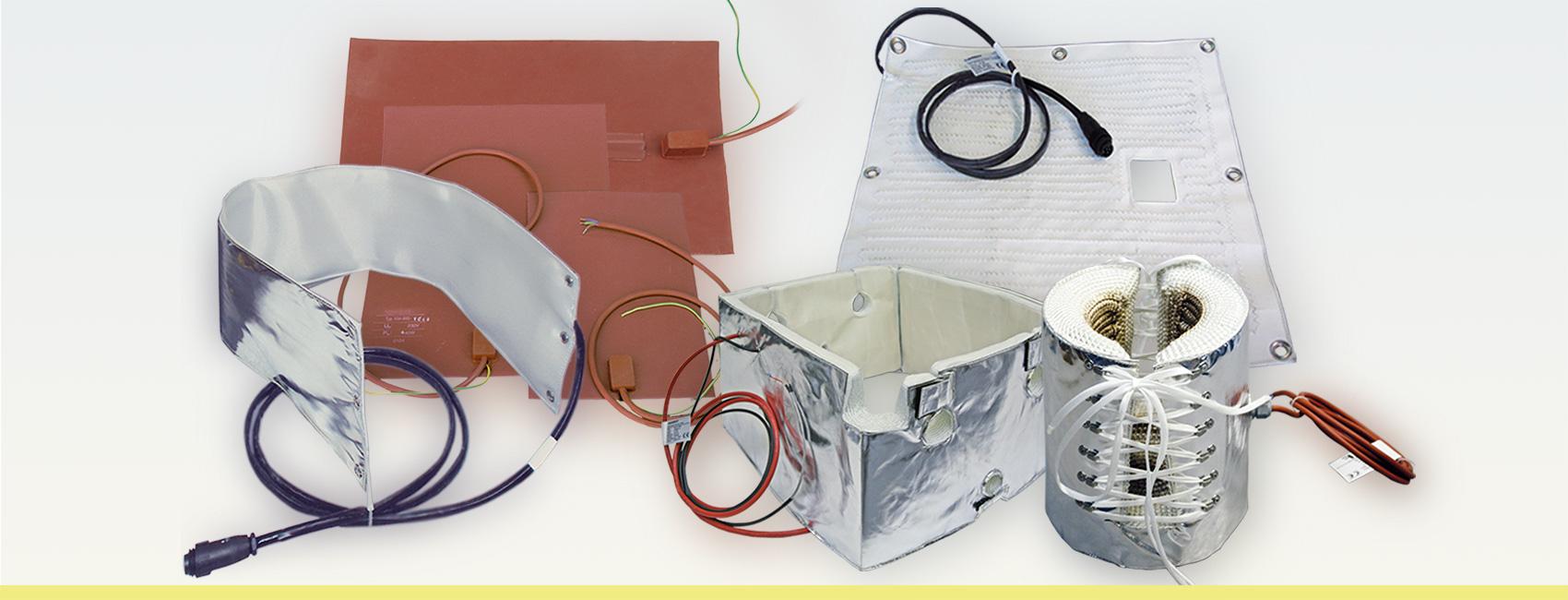 Labortechnik Heizmatten- und Heizmanschetten